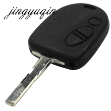 jingyuqin 3 Button Blank Key Shell Fit for Holden VS VT VX VY VZ WH WK Commodore Chevrolet Uncut Blade Fob Car Key Case