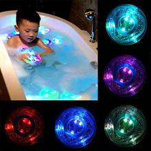 2015 KIDS BATH LIGHT SHOW COLOUR LED LIGHT TOY PARTY IN THE TUB BATH TIME FUN GIFT kids bathroom accessories