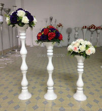 Middle size 65cm 26inch 2015 New Express free shipping white wedding table centerpieces supplies