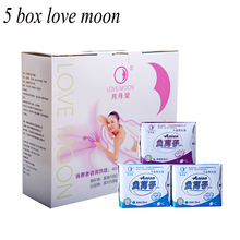 95 pack  love moon anion sanitary pads cotton anion pads winalite anion love moon brand panty liner feminine hygiene product
