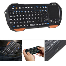 Vococal Mini Bluetooth Wireless Gaming Keyboard with Touchpad for Tablet Smartphone PS3 PS 3 Samsung Galaxy S5 S 5 iPhone 5 5S 6(China)