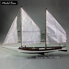 Wooden Ship Model Kits Educational Toy Model-Ship-Assembly DIY Train Hobby Model Boats Wooden 3d Laser Cut Scale 1/24 Sharpie(China)