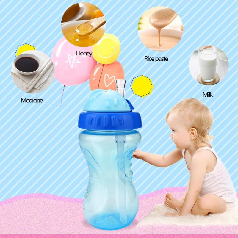 Kids Milk Learning Trained Baby Feed Bottle Mouth Feeding Bottle Practical GA
