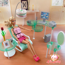 2017 New summer Computer room for barbie doll, fashion doll Furniture  Free shipping