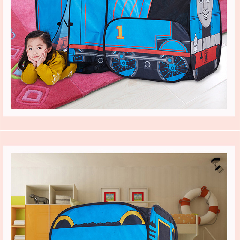 HTB1l2GzRFXXXXasXpXXq6xXFXXXQ - The Train Play Vehicle Toy Tent For Children Pop Up Playhouse Kids Game House Child Baby Portable and inflatable Tents