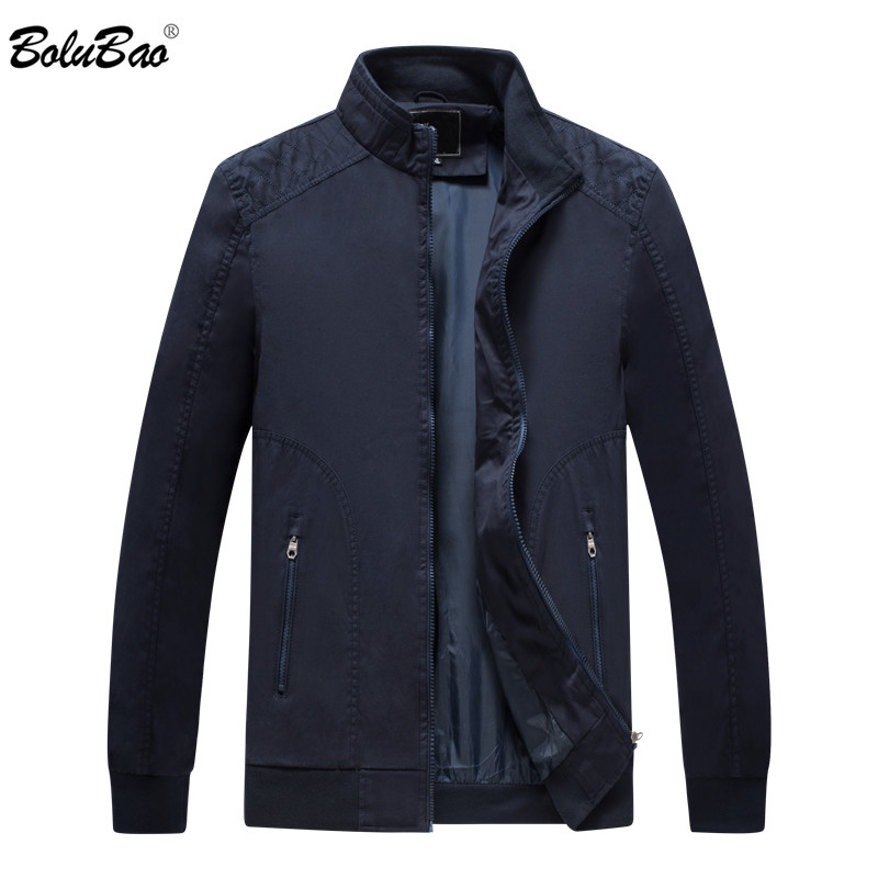 BOLUBAO New Men Jacket 2019 Fashion Casual Mens Jacket Sportswear Outdoors Bomber Top Coat Mens Jackets and Coats