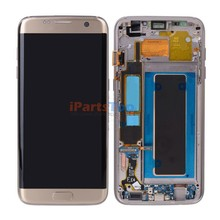 Original LCD Screen Display With Touch Digitizer With Frame Assembly For Samsung S7 Edge G935 G935F G935A G935V Ship By DHL EMS