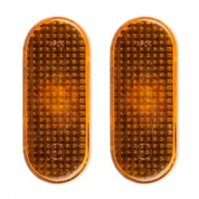 1 Pair Side Marker Indicators Lights Lamp For Car Truck Trailer Lorry Amber Clearence Lamp For Golf MK3 1996-2002(China)