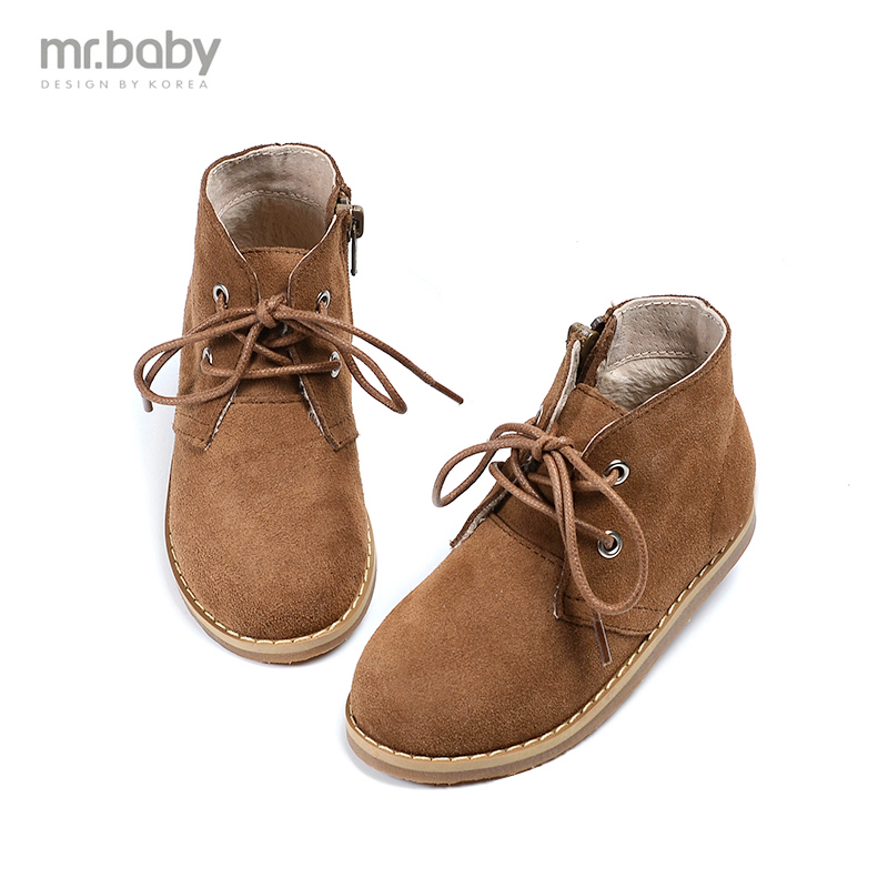 mr.baby 2016 autumn and winter in South Korea new boots side zipper boy boots children shoes<br>
