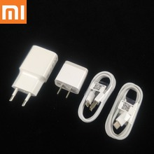 Xiaomi mi a1 Charger Original EU US Wall 5V 2A Charge Power Adapter + Micro Usb Type-C cable xiaomi redmi 5 plus note 4x