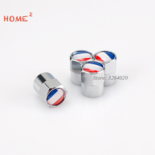 Car Accessories Tire Valve Cap Wheel Cover with France Flag Logo for Luxgen LOTUS Mitsubishi Proton Peugeot Renault Toyota Ford(China)