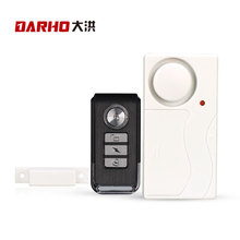 DARHO Home Security Door Window Siren Magnetic Sensor Alarm Warning System Wireless Remote Control Door Detector Burglar Alarm(China)