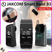 Jakcom B3 Smart Band Heart Rate Monitor Waterproof with bluetooth earphone for IOS iphone 6 6s 5s 4s Android Wear Smartwatch(China)