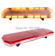 United Safe free shipping ESM0139 low profile GEN III 1 Watt super bright LED mini Warning Lightbar(amber/blue/red/white)
