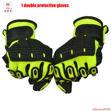 Natural latex High Quality Working Gloves Anti Cutting Gloves CE Standard Cut Level 5 Gloves Back of armor guantes corte