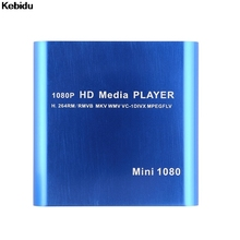 2017 New Hot Mini Full Hd 1080p Usb External Hdd Player With SD MMC Card Reader Host Support Mkv Hdmi Hdd Media Player