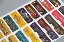 Custom Design for Nintendo Gameboy Advance Label Sticker For GBA Console Back Tag 42sets/lot=84pcs/lot