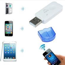 Portable Mini Blutooth Stereo Music Wireless Sound Car USB Bluetooth Audio Adapter Receiver Headphone Reciever Speaker
