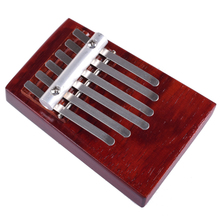 6 Note Rosewood Thumb Piano African Percussion Instruments Kalimba Kids Musical Toy Wood Finger Piano for Child Gift(China)