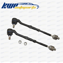 Set of Front Inner and Outer Tie Rod Ends For BMW E53 X5(China)