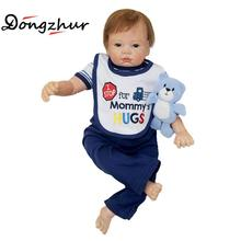 Boy Npkdolls Silicone Babies For Sale Tangkou Doll Boy Silicone Reborn Doll Toy For Children Bonecas Reborn De Silicone Inteiro(China)