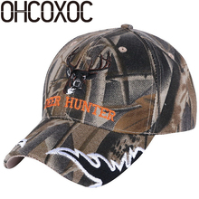 OHCOXOC men women sports baseball cap hat outdoor style print embroidery hip hop hats unisex adjustable fashion caps hats(China)