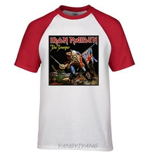 Iron Maiden Horse Rider 2012 Mens Black T Shirt New Official Adult man brand top tees summer style(China)