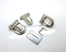 Free Shipping-10 Sets Silver Tone Handbag Bag Accessories Purse Snap Clasps/ Closure Lock 30x22mm 29x18mm 31x25mm,15x14mm J1819