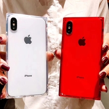 Buy 2018 Fashion Phone Case iPhone X 6 6S 7 8 XS Max XR Plus 7Plus 8Plus Cases Silicone Tpu Soft Luxury Transparent Cover Coque for $1.50 in AliExpress store