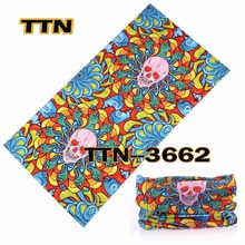 Newest    bandana  Bicycle Motorcycle  bandana ciclismo Magic Headband Veil Multi skull Scarf