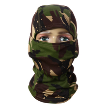 3D Hunting Hunter Camouflage Camo Headgear Balaclava Face Mask for Wargame Paintball Hunting Fishing Cycling Mask Equipment(China)