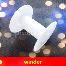 1pc Sale K936 White Plastic Model Wire Winder Bobbin Coil Winder Free Shipping USA Canada(China)