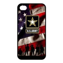 United States Army Logo Tpu Nero cell phone bags case cover for 4S 5C 5S SE 6S 7 Plus IPOD Samsung NOTE IPOD Touch 4 5 HTC SONY
