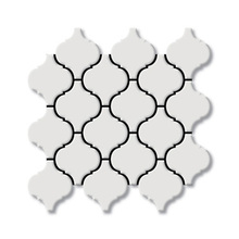 Glossy White Porcelain Lantern Mosaic craft pattern,Kitchen/TV/Barth Background wall decor,Home ceramic art wall tiles,KM-N3-A21