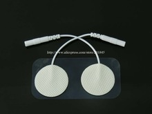 50Pairs/Lot Tens EMS Acupuncture Electrode Pads Digital Therapy Machine Massager Diameter 3cm