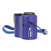 Portable Hand Crank Wind Up USB Cell Phone Emergency Charger Dynamo Hand Crank USB Charger For Camping Hiking Outdoor Sports