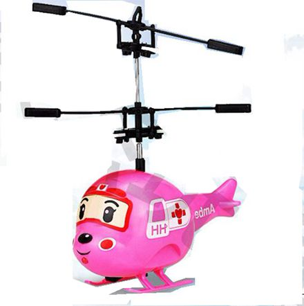 Induction Mini Red Plane Electric Fly Toys Remote Control RC Helicopter Flying Quadcopter Drone Kids Toy Fairy Doll Best Gifts