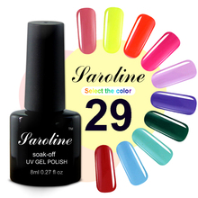 Saroline Gel Nail Polish Long Lasting Nail Polish Gel Varnish Gelpolish Vernis Semi Permanent LED UV Gel Lak Nail Art
