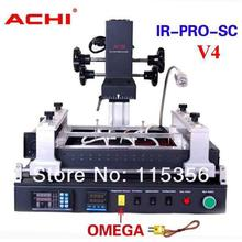 free shipping New version ACHI IR PRO-SC V4 update from ACHI IR PRO SC IR6500 IR6000 infrared BGA rework station(China)