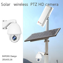 PTZ Full HD 2MP IP solar Camera 1080p P2P Onvif wifi wireless 3km IR night  surveillance CCTV camera