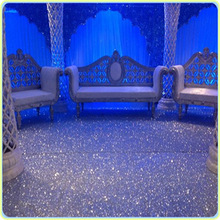 The most popular opening ceremony of marriage with a non-woven rug carpet wedding props fabric material(China)