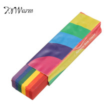 KiWarm Newest Rainbow Body Crayon Set Face Body Paint Sticks UV Reactive Colour Halloween Makeup Painting Pen Washable Crayons(China)