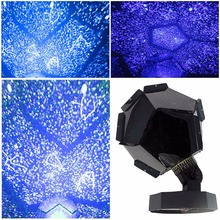 Star Astro Sky Projection Night Light Projector Lamp LED Romantic Starry US Plug Night Lamp Starry Romantic Bedroom Decoration(China)