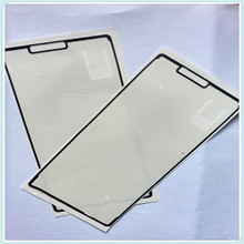 Whole Sale 10PCS/LOT New LCD Front Frame Bezel Plate Gule Sticker Adhesive Tape For Sony Xperia Z3 D6653 LCD Supporting Frame
