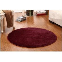 Large Size Soft Round Carpet Yoga mat Slip Resistant Floor Mats For Parlor Living Room Bedroom Computer Cushions Rugs