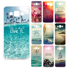 Beautiful Ocean Scenery Hard Cover Case For Samsung Galaxy A3 A5 A7 J1 J3 J5 J7 2016 2017 A310 A510 A710 J120 J510 J710 Case