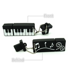 Piano keyboard usb flash drive disk memory stick Pen drive personalizado 4gb 8gb 16gb 32gb pendrive mini music computer gift
