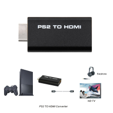 HDV-G300 for PS2 to HDMI 480i/480p/576i Audio Video Converter Adapter with 3.5mm Audio Output