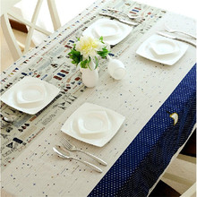 Korean style super quality table cloth dustproof square splicing tablecloths for wedding home tablecloth on the table tablecloth