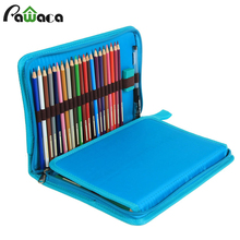 72 Slot Pencil Holder Storage Bag Canvas Roll Pencil Case Colored Pe ncils Organizer Case Roll Multi Foldable Purpose Pouch